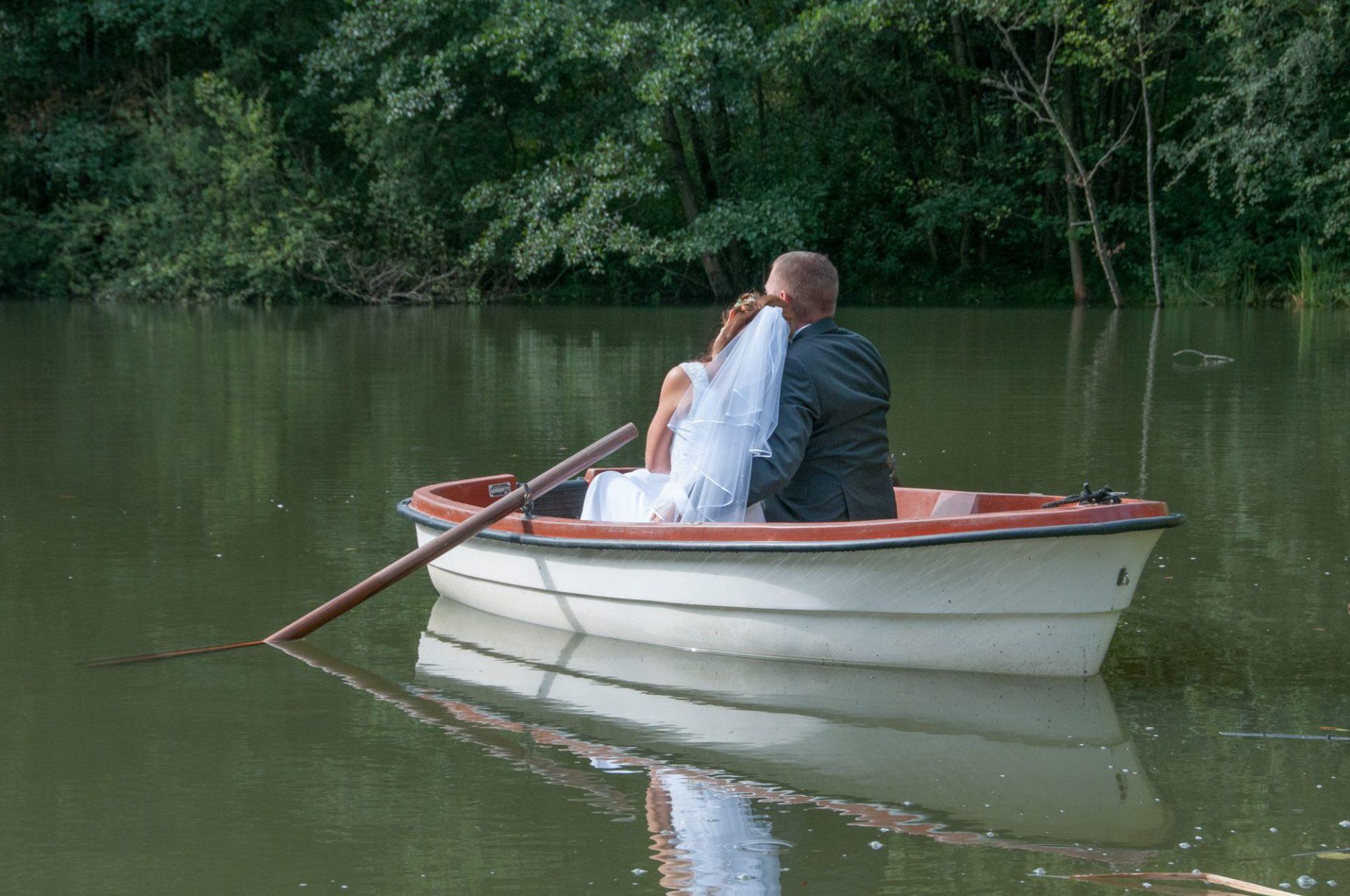 gemeinsam im Ruderboot