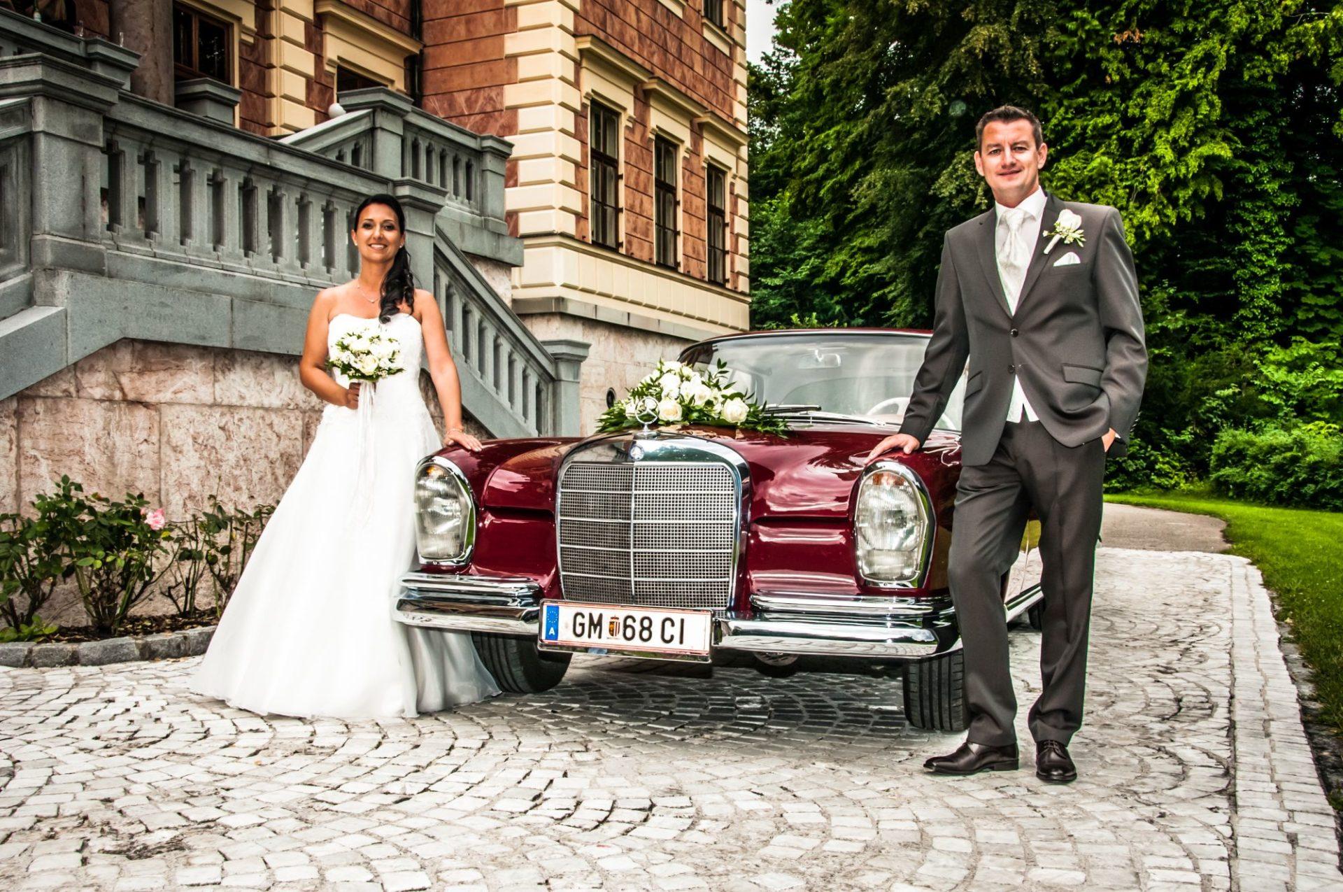 Brautpaar Gmunden Schloss Württemberg